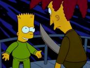 Bart and Sideshow Bob
