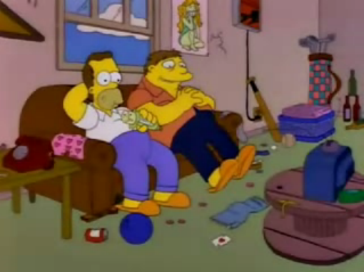 File:Homer and Barney young in I Married Marge.png