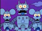 Itchy & Scratchy robots
