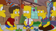 Bart and the other kids
