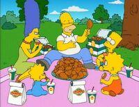 Churcheschicken-picnic
