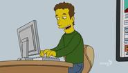 Mark Zuckerberg character