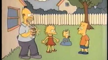 Simpsons Shorts Football (restored)
