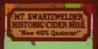 Mt. Swartzwelder Historic Cider Mill