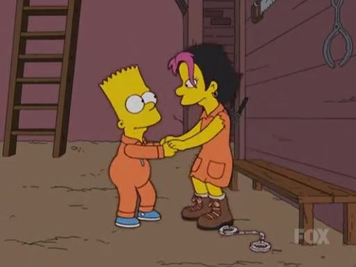 File:Bart and Gina Out of Their Handcuffs.JPG