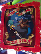 The Simpsons Ride Sideshow Mel & Mr. Teeny's Musical Revue Poster