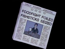 Foodfight Foiled Fishsticks Seized