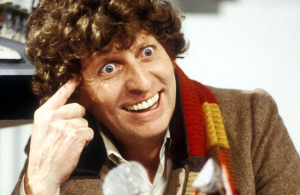 The real Tom Baker AKA The fourth doctor Who