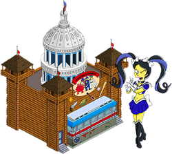Americatown and Sailor Kumiko Menu