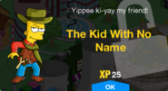 The Kid With No Name Unlock Screen