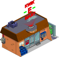 Newfangled Kwik-E-Mart Menu