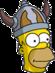 Barbarian Homer Icon