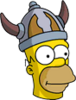 Barbarian Homer Icon