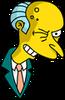 Mr. Burns Winking Icon
