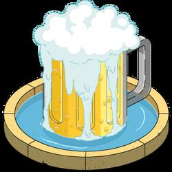 Duff Beer Fountain Menu
