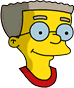 Rollerskate Smithers Icon