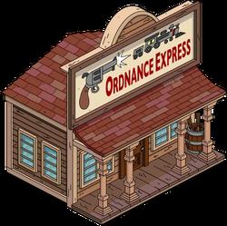 Ordnance Express Menu
