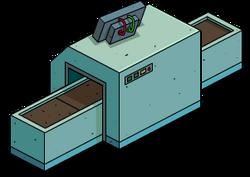 X-Ray Machine Menu