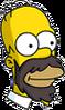 Homer Beard Icon