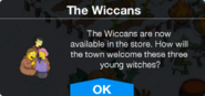 The Wiccans Notification
