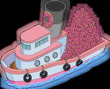 Donut Boat Menu