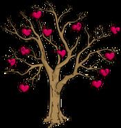 Halloween Valentine's Tree