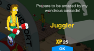 Juggler Unlock Screen