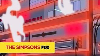 """THE SIMPSONS Power Failure from """"Mathlete's Feat"""" ANIMATION on FOX"""