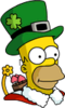 Holiday Homer Icon