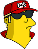 Duffman Sad Icon