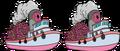 Super Boatload of 5000 Donuts