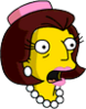 Mrs. Quimby Surprised Icon