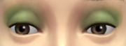 YfMakeupEyeshadow BlendSubtleSheen GreenLt