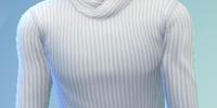 YmTop SweaterFoldedCollar