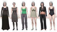 Deirdre Outfits TS4