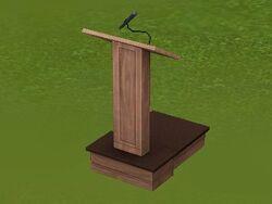 Salutary Speaker's Podium