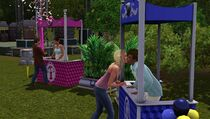 Festival spring - kissing booth