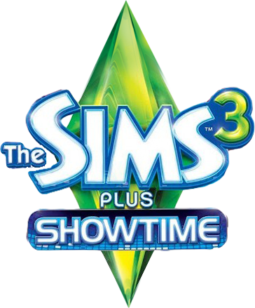 File:The Sims 3 Plus Showtime Logo.png