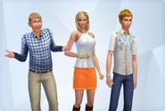 Landgraab Family (The Sims 4)