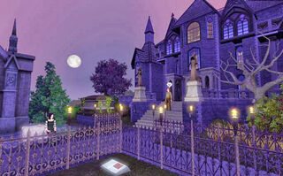 Grim's Ghastly Manor venue 2