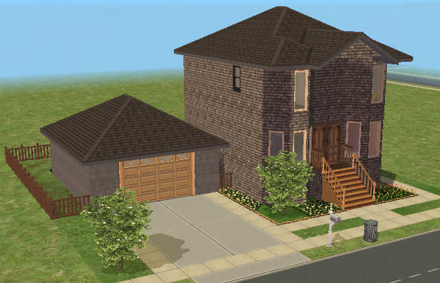 File:City House - 2BR 1.5BA Garage.png