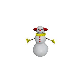 Снеговик в «<i><a href=