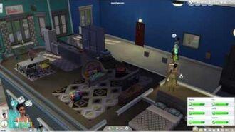 Sims 4 City Living - Earthquake