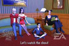 Goth family in GBA