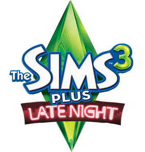 File:The Sims 3 Plus Late Night Logo.png