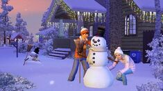 TS3Seasons snowman