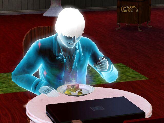 File:A ghost sim eating ambrosia.jpg
