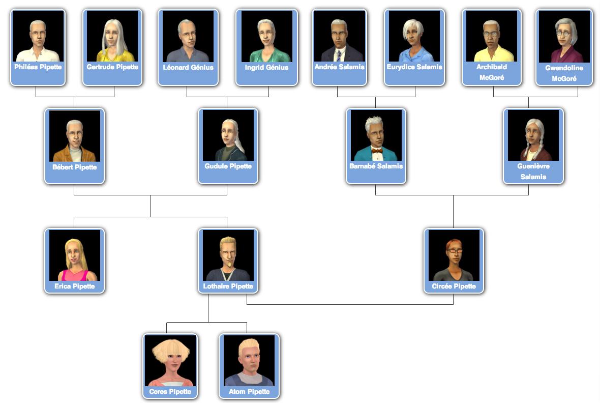 Famille pipette les sims wiki fandom powered by wikia for Nom de maison original