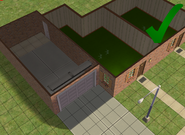 Ts2 custom apartment gg - correct garage door usage