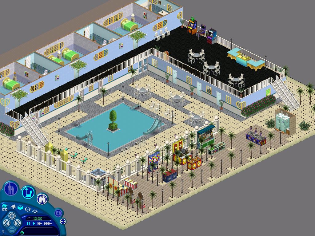 Hotel Sims  Island Paradise